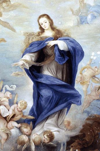 Significado e Simbolismo de Nossa Senhora da Glória - Santos e Ícones  Católicos - Cruz Terra Santa 88c891eae6