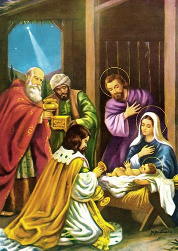História De Santos Reis Santos E ícones Católicos Cruz Terra Santa