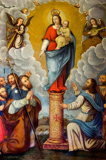 História de Nossa Senhora do Pilar - Santos e Ícones Católicos ... 7cada6750c