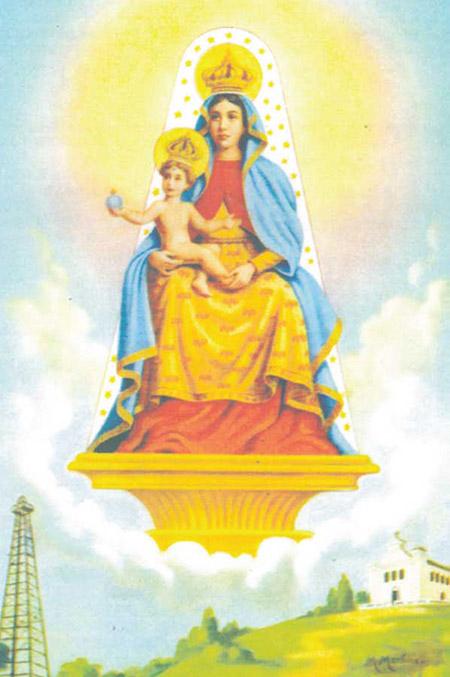 História de Nossa Senhora das Candeias - Santos e Ícones Católicos - Cruz  Terra Santa 68da960bfd