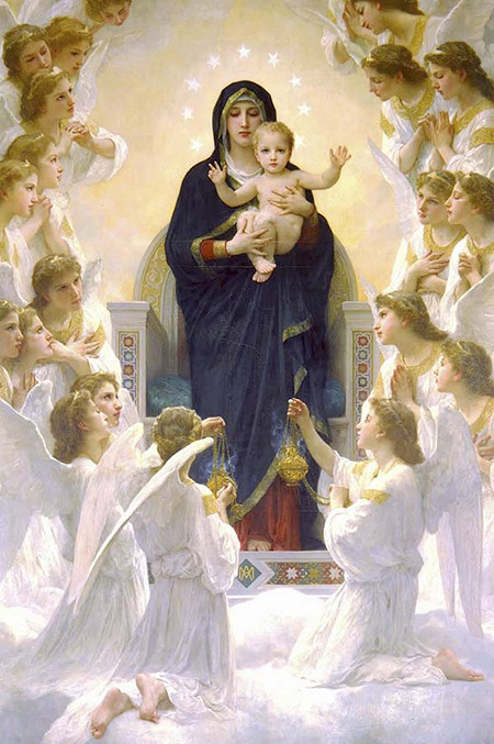 Le Symbolisme Chrétien - 19 eme siècle - Angleterre ( Images) &arquivo=20170531102436-nossa-senhora-rainha-dos-anjos