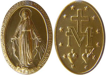 Medalha Milagrosa - Santos e Ícones Católicos - Cruz Terra Santa 041c31cc2e