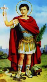 História De Santo Expedito Santos E ícones Católicos Cruz Terra