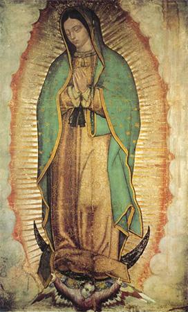 Significado e Simbolismo de Nossa Senhora Guadalupe - Santos e Ícones  Católicos - Cruz Terra Santa 79c88a10c5