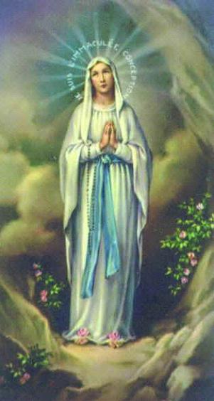 Significado E Simbolismo De Nossa Senhora De Lourdes Santos E