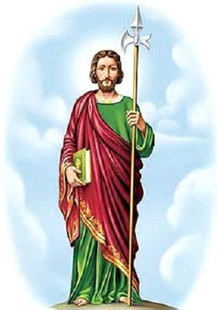 Significado e Simbolismo de São Judas Tadeu - Santos e Ícones Católicos -  Cruz Terra Santa a336bae939