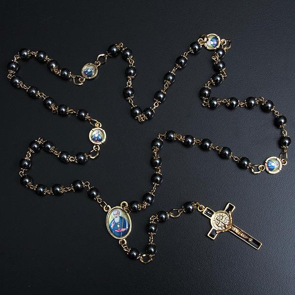 fef9ca7933e04 Kit 2 Medalhas São Bento em prata de lei chapeado a ouro + 3 lindos ...
