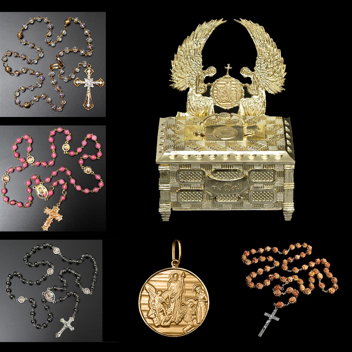 25426caabd35e Kit Arca da Fé + 5 Lindos presentes - Artigos Religiosos Católicos ...