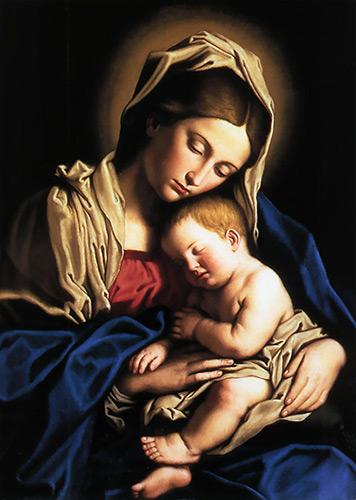 História de Santa Maria - Santos e Ícones Católicos - Cruz Terra Santa