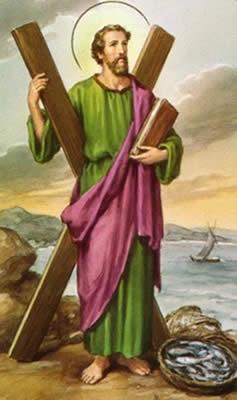 Significado e Simbolismo de Santo André - Santos e Ícones Católicos - Cruz  Terra Santa