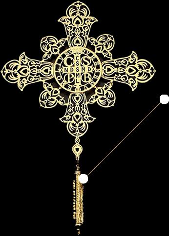 99c45b7762829 A Medalha de São Bento - Artigos Religiosos Católicos - Cruz Terra Santa