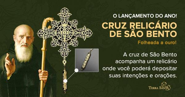 A Cruz Relicário De São Bento Artigos Religiosos Católicos Cruz